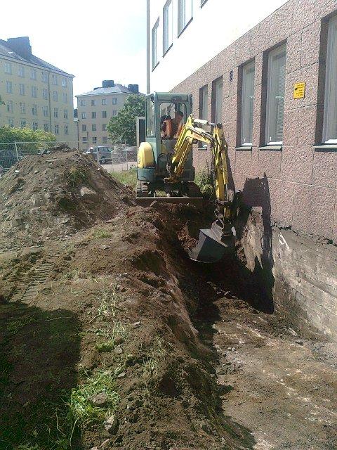 Maanrakennuspalvelut - Maanrakennustyö
