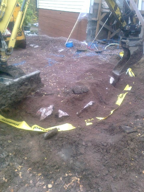 Maanrakennuspalvelut - Sähkökaapelien kaivuu valaistusta varten