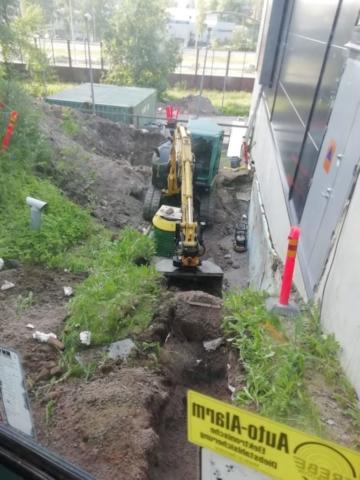Jätevesipumppaamon maanrakennustyöt